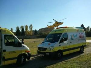Ambulancias aragon 061
